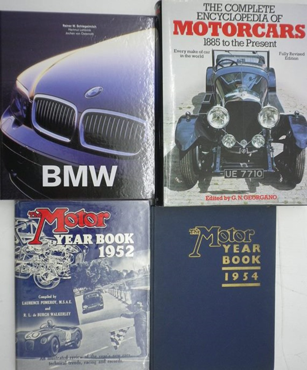 Lot 11 - Ten motoring books