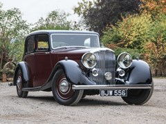 Navigate to Lot 216 - 1936 Bentley 4¼ litre Saloon by Park Ward