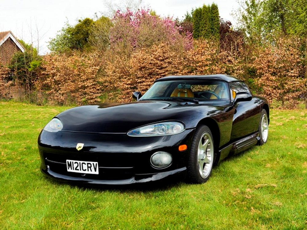 Lot 268 - 1995 Chrysler Viper Venom Roadster