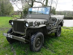 Navigate to Lot 330 - 1942 Willys MB Jeep