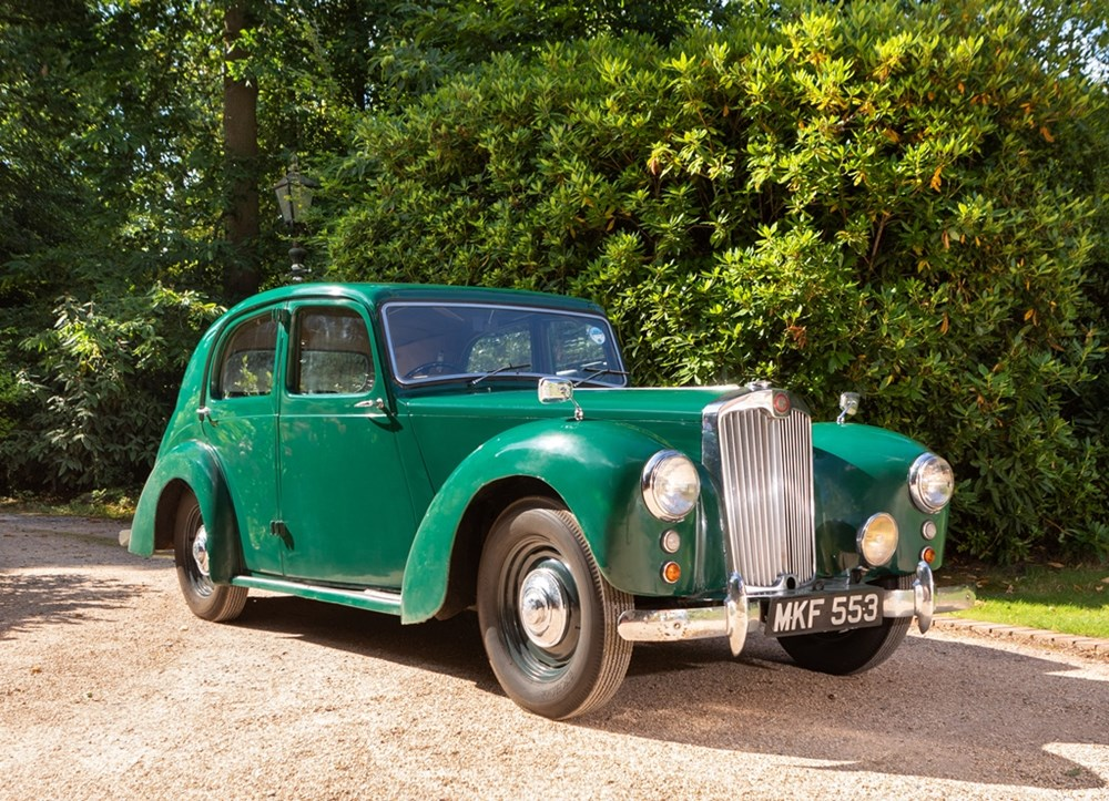 Lot 119 - 1951 Lea Francis 14hp Saloon