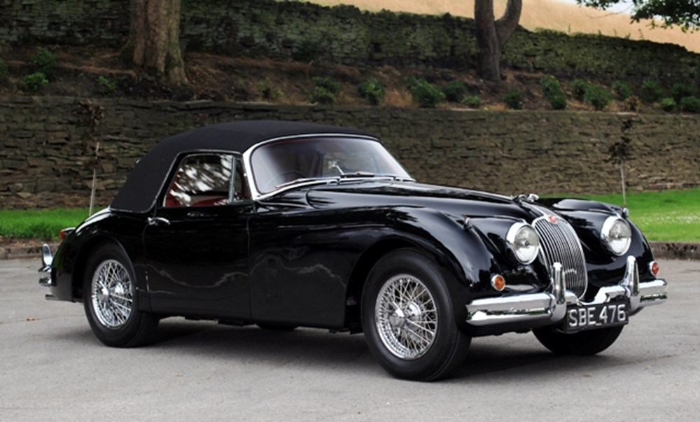 Lot 279 - 1958 Jaguar XK150SE Drophead Coupé