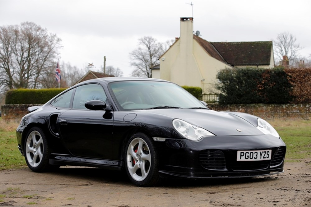 Lot 191 - 2003 Porsche 996 Turbo Tiptronic
