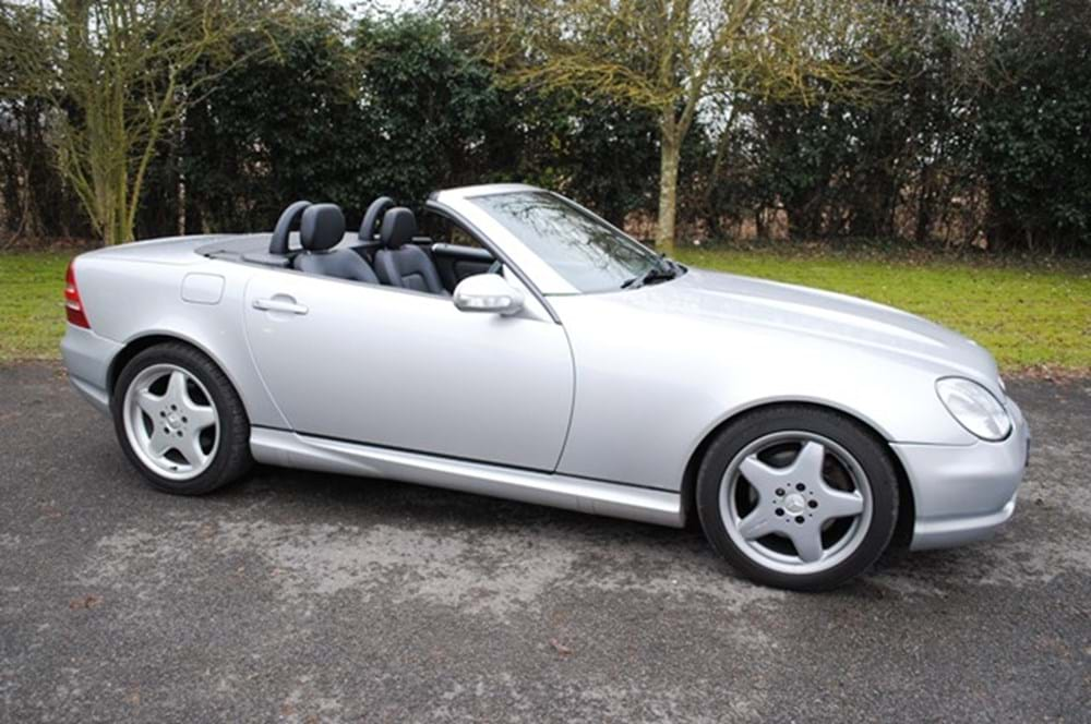 Lot 200 - 2001 Mercedes-Benz SLK 320