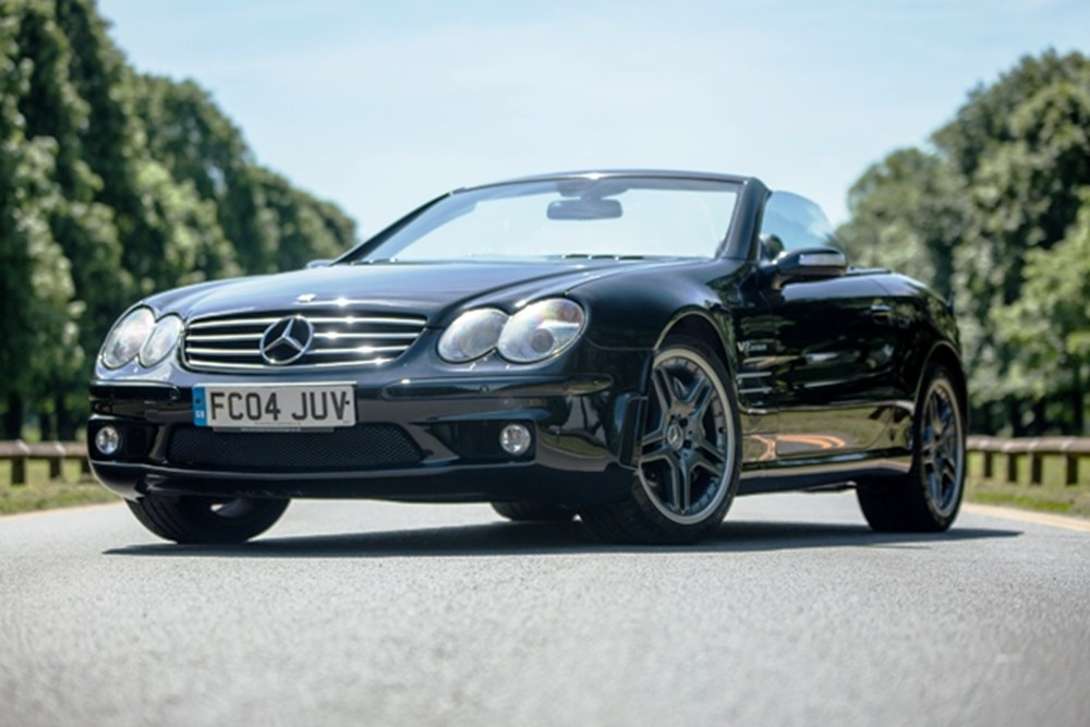 Lot 223 - 2004 Mercedes-Benz SL 65 AMG