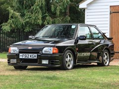 Navigate to Lot 235 - 1988 Ford Escort XR3i 'Rattlesnake'