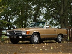 Navigate to Lot 212 - 1977 Mercedes-Benz 350 SL Roadster