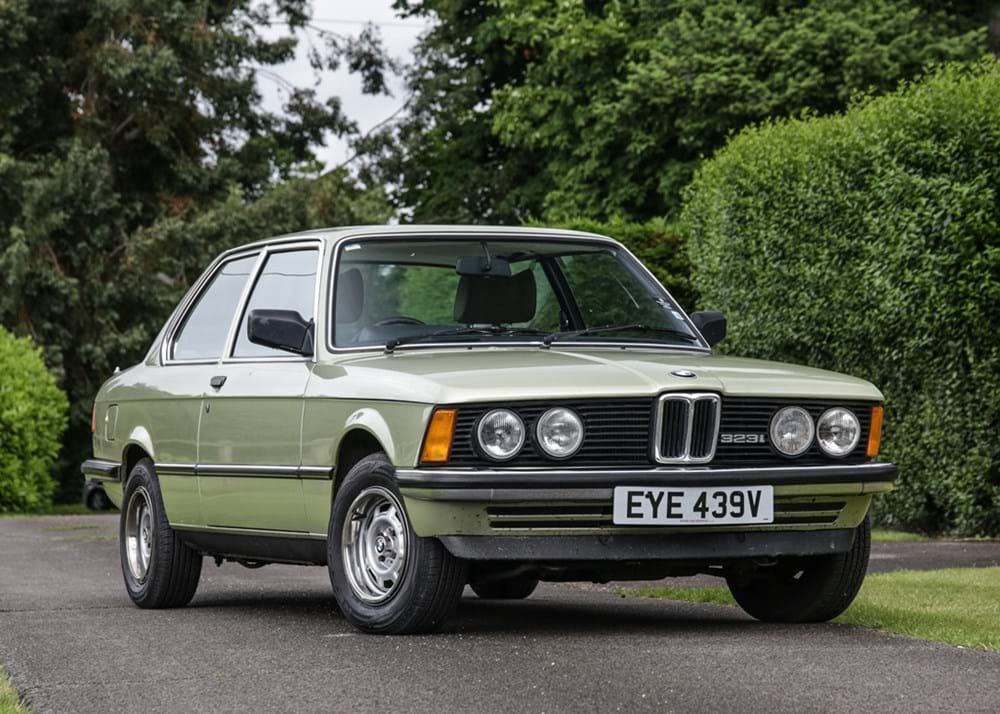Lot 162 - 1979 BMW 323i Saloon (E21)