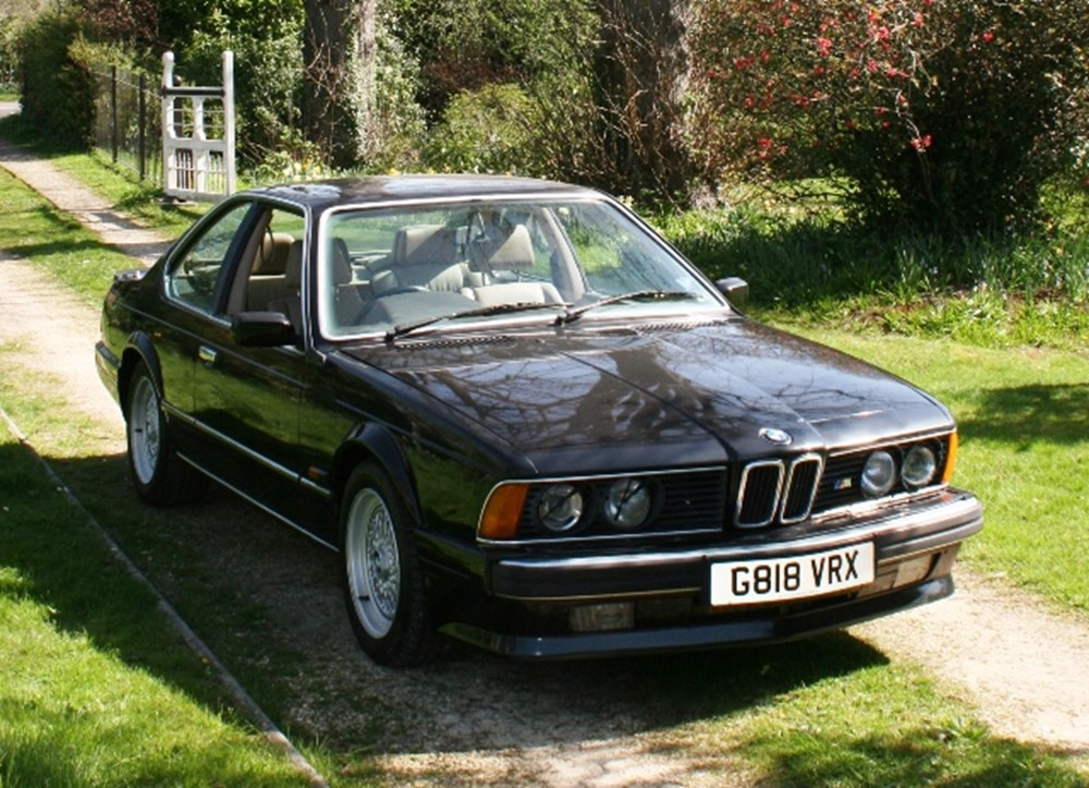 Lot 266 - 1989 BMW M635 CSi *WITHDRAWN*