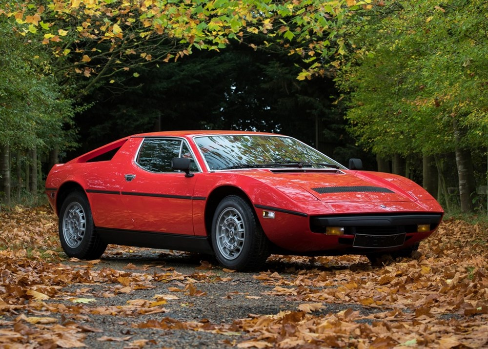 Lot 281 - 1975 Maserati Merak to SS specification