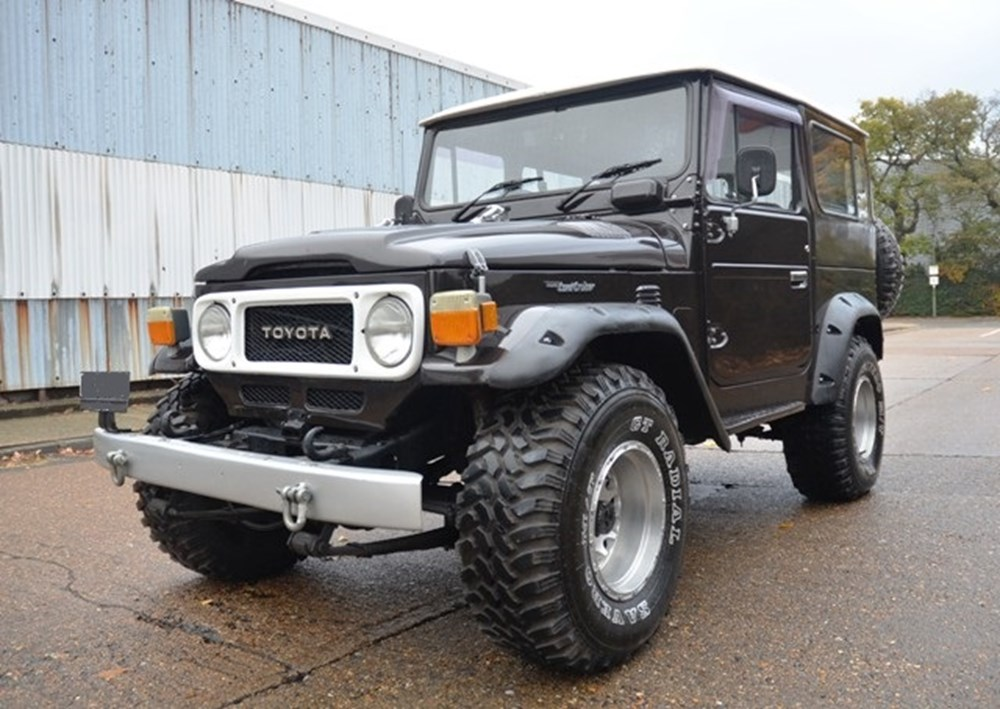 Lot 227 - 1981 Toyota FJ40 Landcruiser