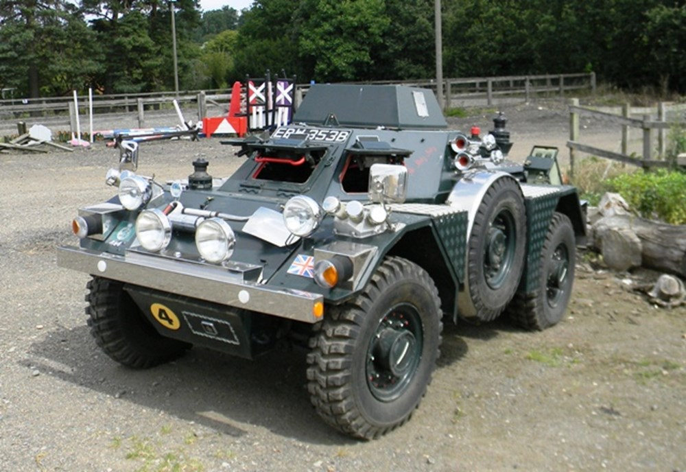 Lot 342 - 1964 Daimler Scout Car LRV Ferret Mk. 1/2