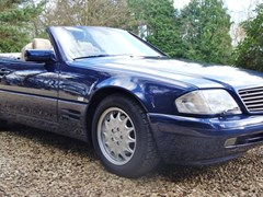 Navigate to Lot 286 - 1997 12987 SL320 Roadster