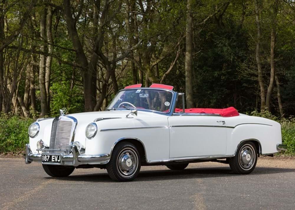 Ref 60 1957 mercedes benz 220s cabriolet for 1957 mercedes benz 220s