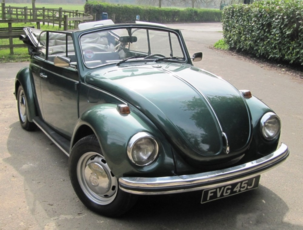 Lot 316 - 1971 Volkswagen Beetle Convertible