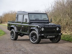 Navigate to Lot 208 - 2002 Land Rover Defender 110 County Double Cab Pick-Up