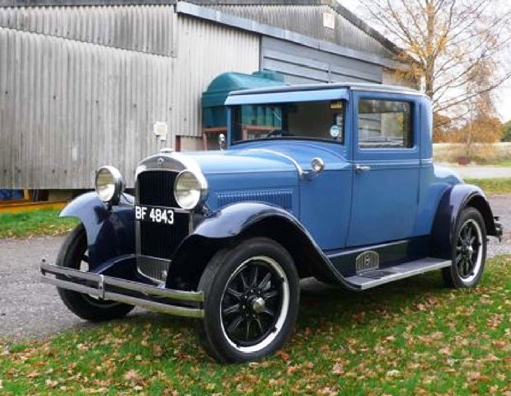 Lot 281 - 1929 Hudson Essex Super Six Doctors Coupé