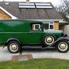 1932 Ford Model B Bakers Van -