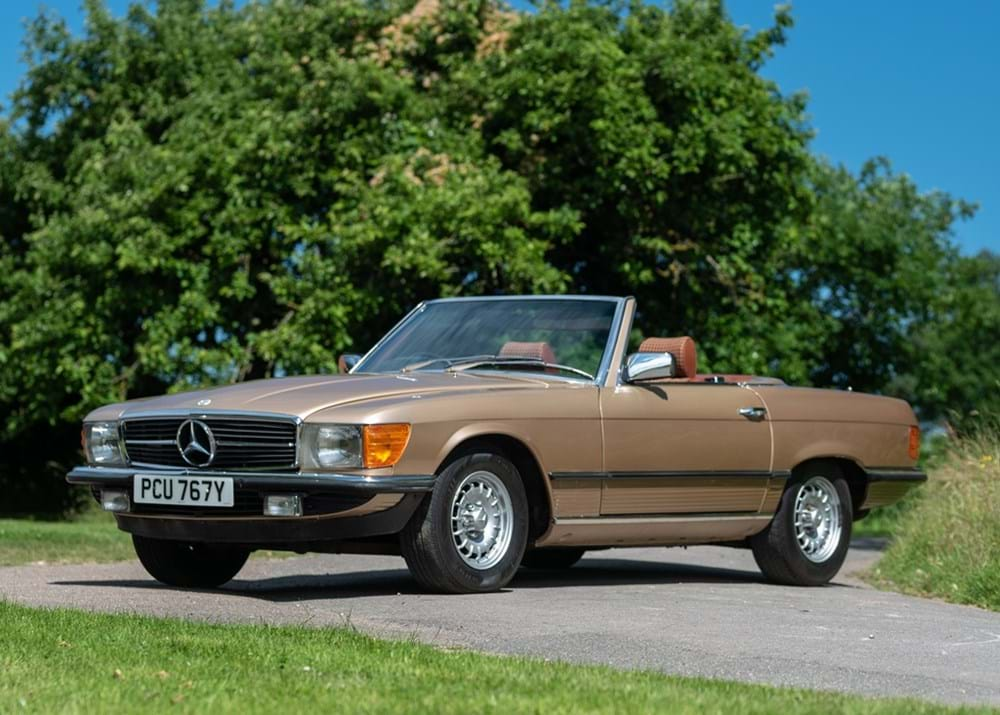 Lot 186 - 1982 Mercedes-Benz  SL 380