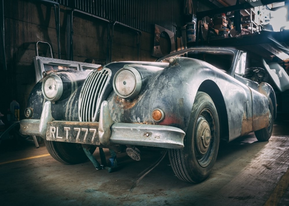Lot 172 - 1955 Jaguar XK140 Drophead Coupé