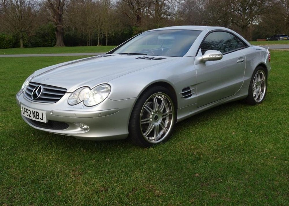 Lot 234 - 2002 Mercedes-Benz SL 500 Roadster