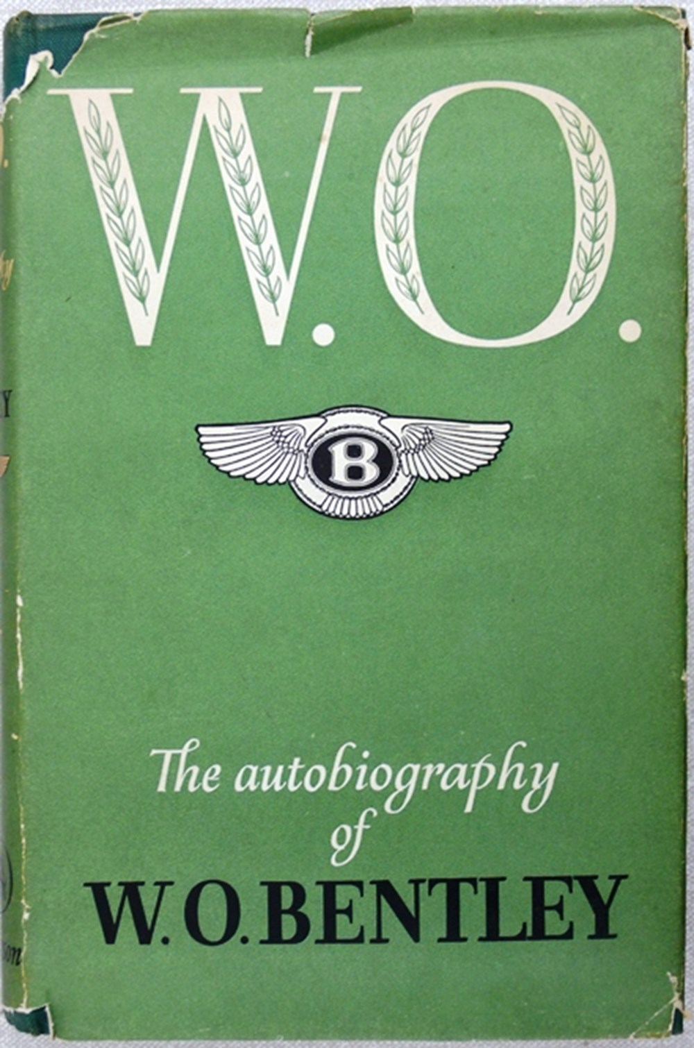 Lot 024 -  W. O. Bentley signed book