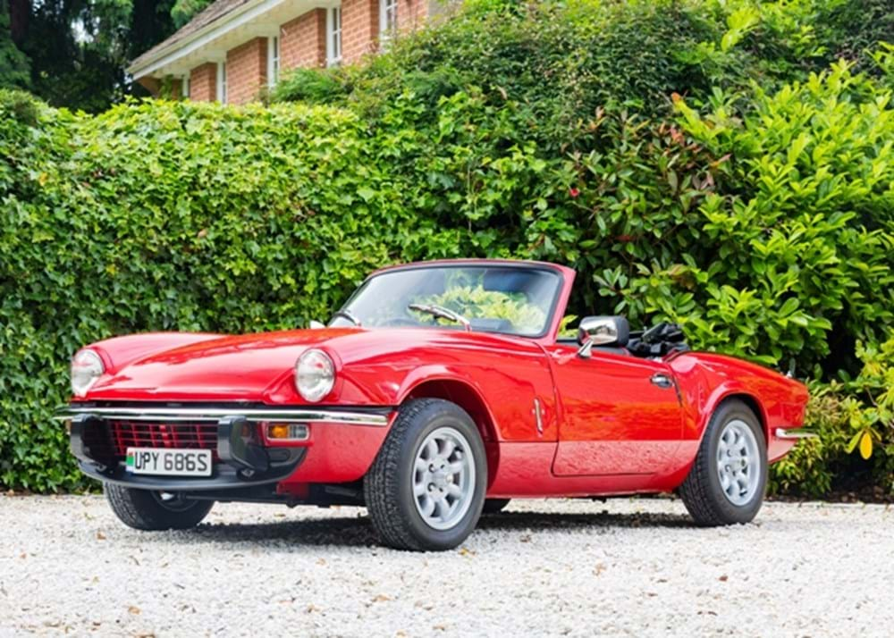 Lot 107 - 1977 Triumph Spitfire Convertible (1500cc)