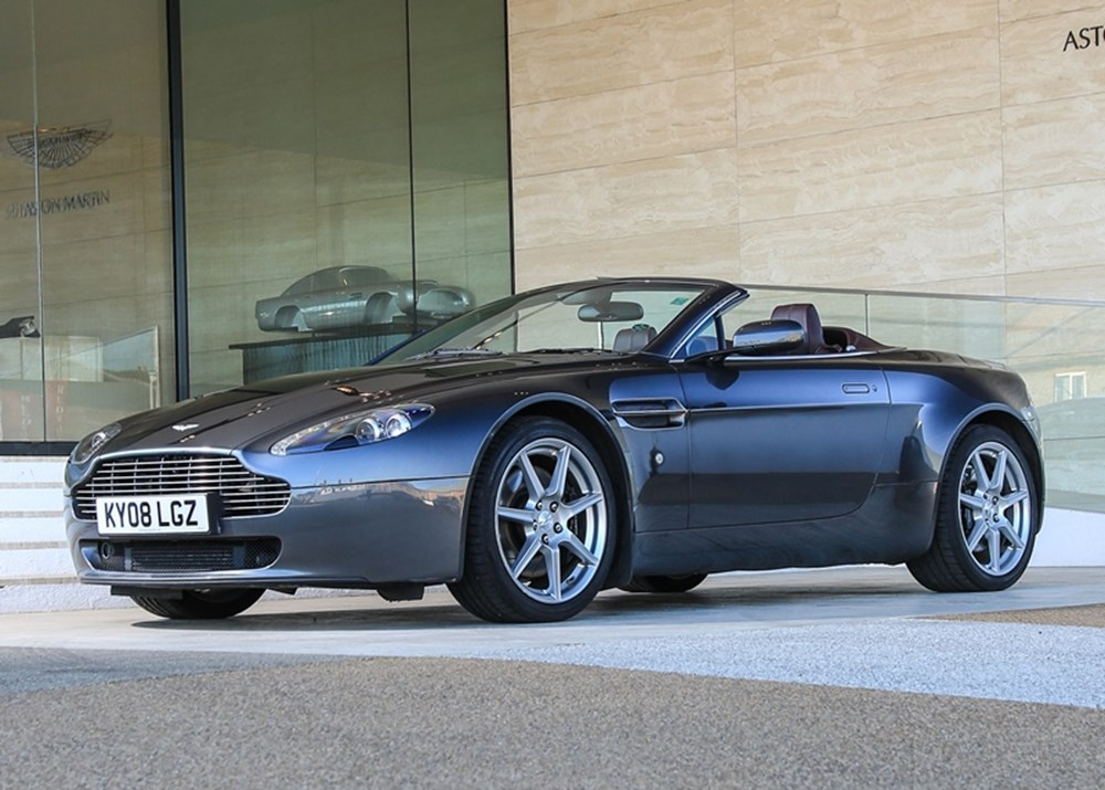 Lot 246 - 2008 Aston Martin V8 Vantage Roadster