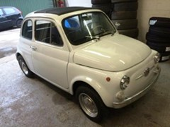 Navigate to Lot 206 - 1972 Fiat 500