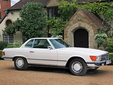 1973 Mercedes-Benz 350SL Roadster