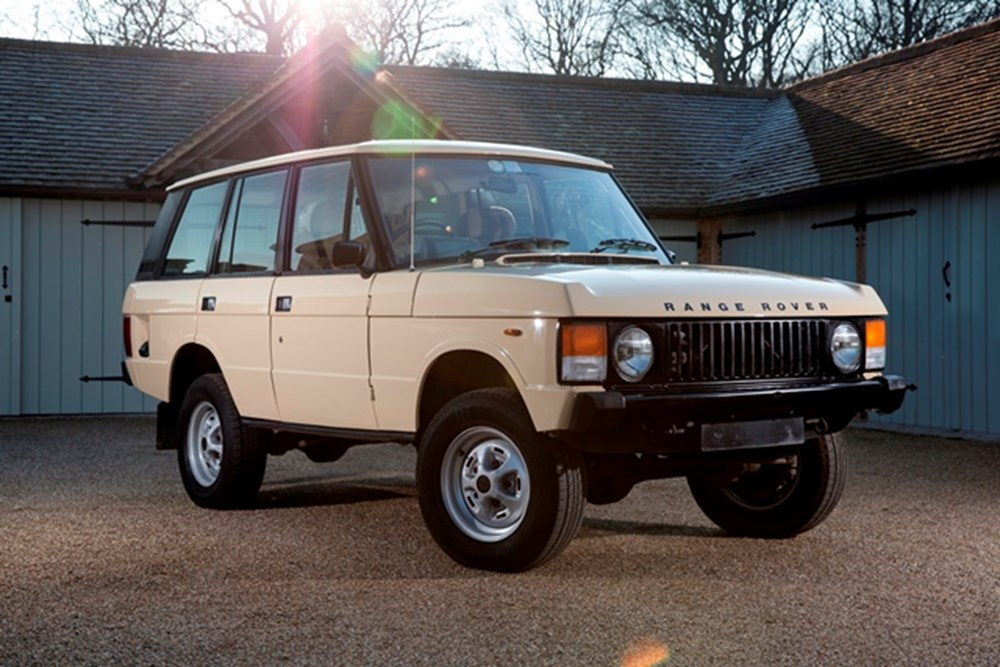 Lot 199 - 1983 Range Rover Classic (Four Door)