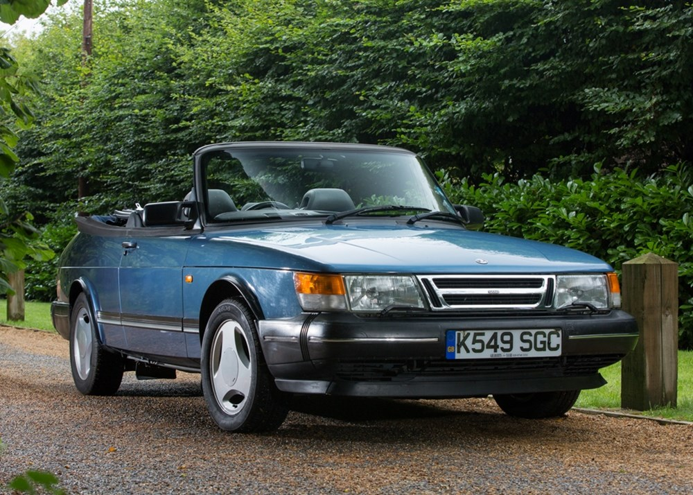 ref 102 1993 saab 900 s turbo t7 abbotts racing convertible. Black Bedroom Furniture Sets. Home Design Ideas