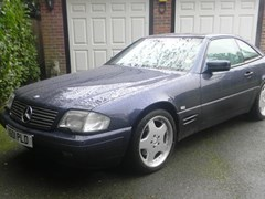 Navigate to Lot 224 - 2000 12987 500SL Roadster