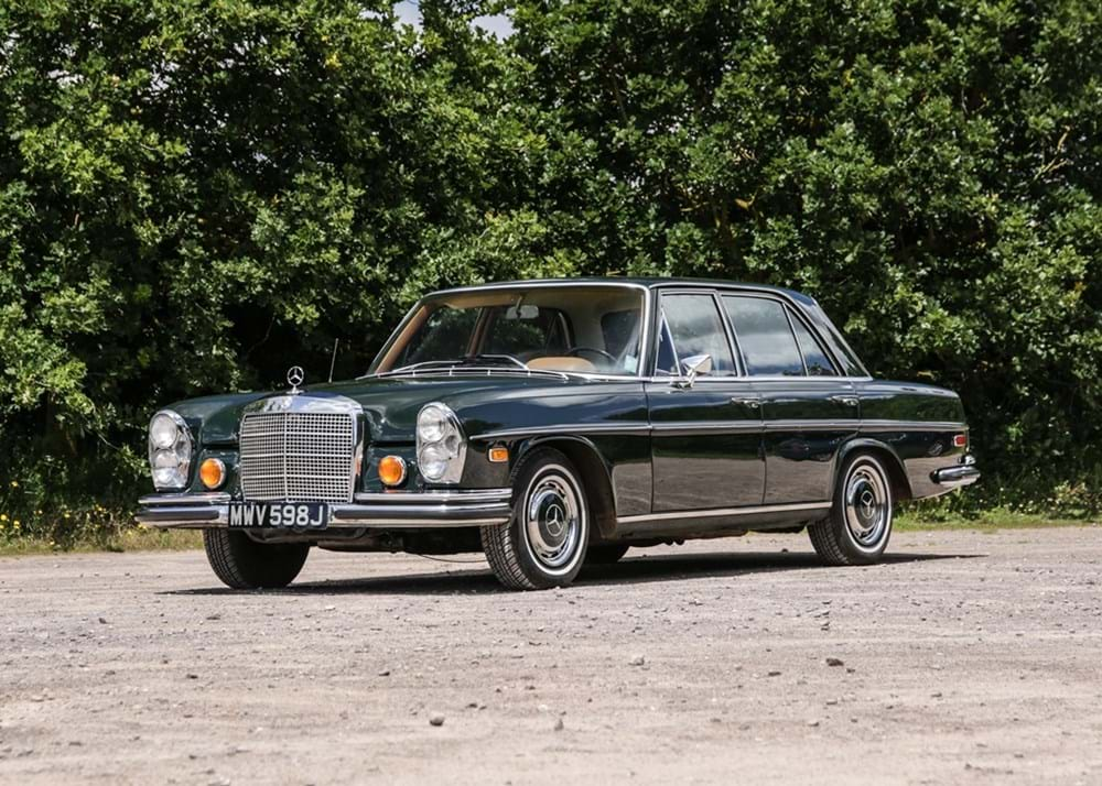 Lot 155 - 1971 Mercedes-Benz 280 SE