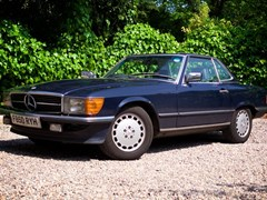 Navigate to Lot 329 - 1989 Mercedes-Benz 420 SL