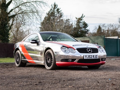 Ref 166  2002 Mercedes-Benz SL55 AMG Kompressor DL