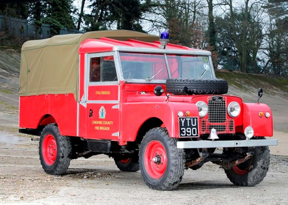 Lot 161 - 1957 Land Rover Series I Fire Tender