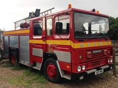 Navigate to Lot 349 - 1989 Dennis Carmichael Fire Engine