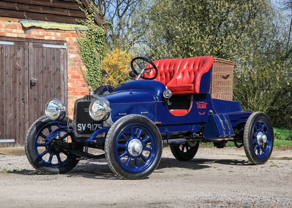 Lot 187 - 1916 Talbot 4CY 15/20 'The Qantas Flyer'