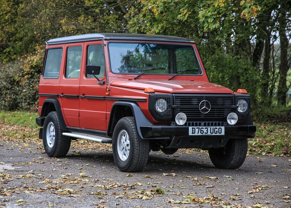 Lot 287 - 1987 Mercedes-Benz 280 GE