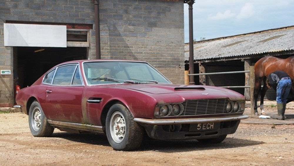 Lot 281 - 1971 12848 DBS V8 Saloon Restoration