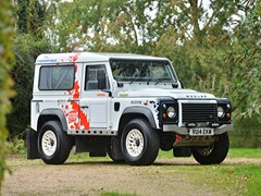 Navigate to Lot 140 - 2014 Land Rover Defender Challenge by Bowler