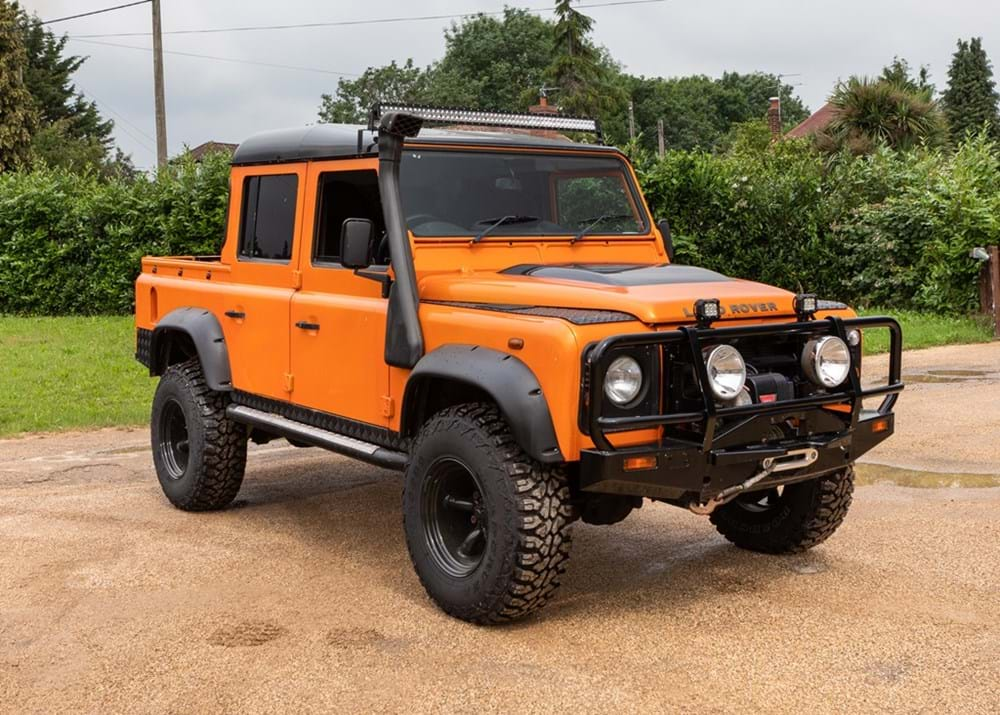 Lot 184 - 2009 Land Rover Defender Double Cab Pick-up