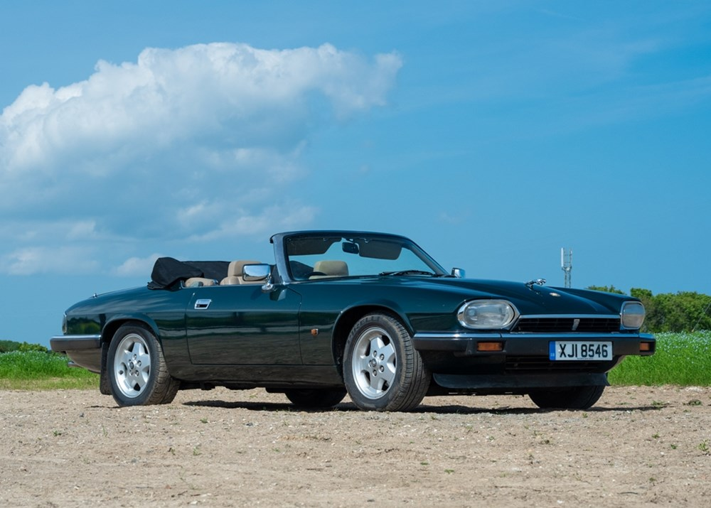 Lot 117 - 1993 Jaguar XJS Convertible