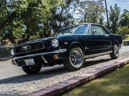 REF 105 1966 Ford Mustang Notchback