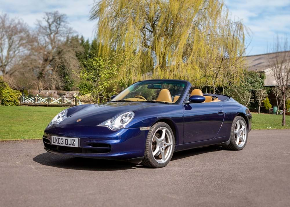 Lot 279 - 2003 Porsche Carrera 996 Convertible