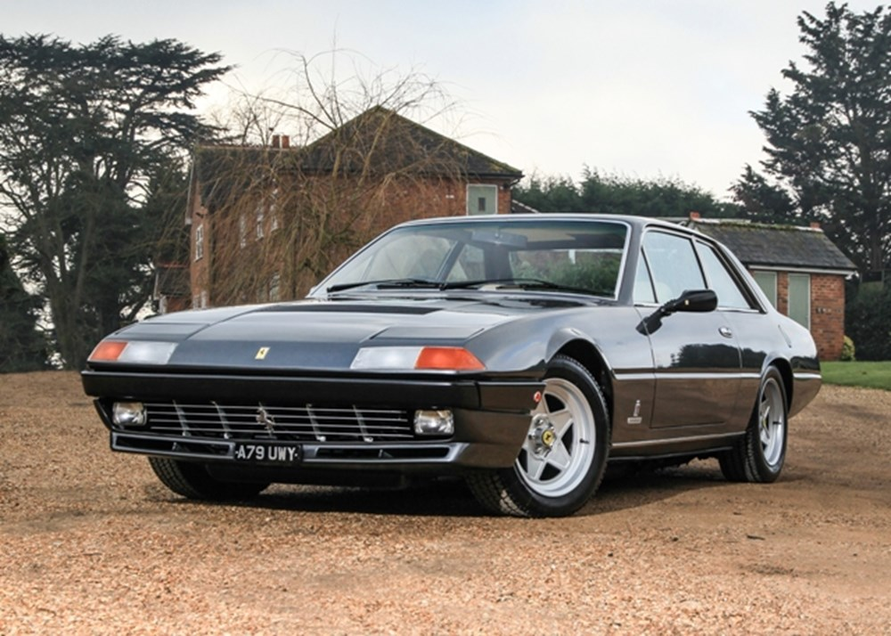 ref 40 1984 ferrari 400i classic sports car auctioneers. Black Bedroom Furniture Sets. Home Design Ideas