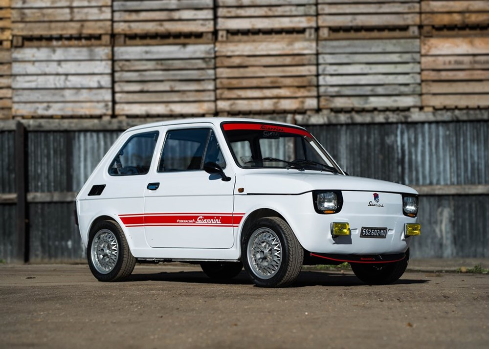 Lot 338 - 1980 Fiat 126 Giannini (Recreation)