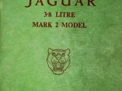 Navigate to Three original Jaguar handbooks & workshop manual