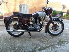 Navigate to Lot 245 - 1955 BSA B33 (500cc)